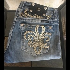 Miss Me boot jeans.